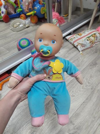 Пупс первая кукла chicco
