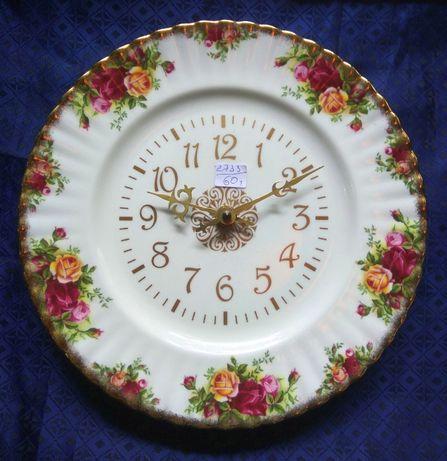 Relógio Prato Royal Albert Old Country Roses