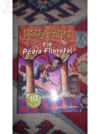 2 livros Harry Potter- 9ª e 10ª edições- NOVO