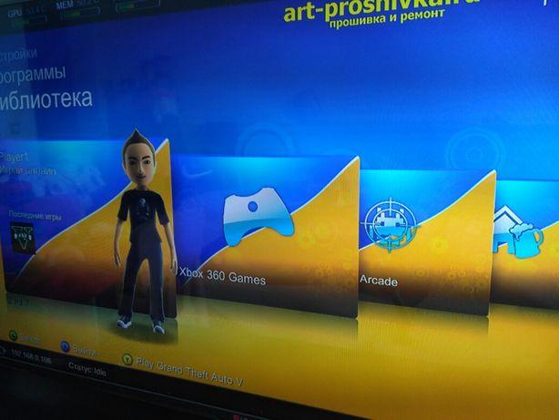 Xbox 360 FreeBoot установка игр Обновление прошивки установка игр
