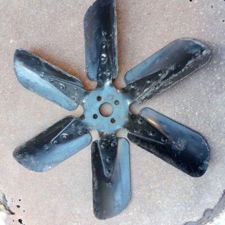 Стальная крыльчатка крильчатка вентилятора ГАЗ-51,52,53,66,69 СССР