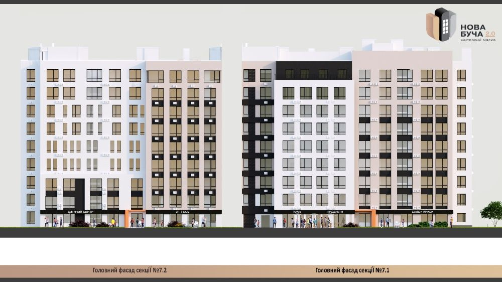 Продам 1к квартиру в Буче с развитой инфраструктурой! Буча - изображение 1