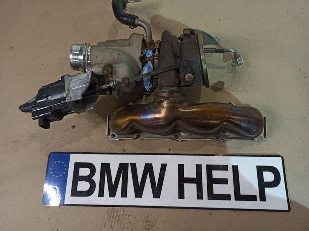 Турбина выхлоп коллектор Ф30 F30 F31 F32 F10 n20b20b Разборка BMW HELP