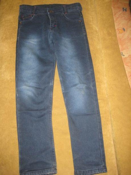 Зимние джинсы для мальчика