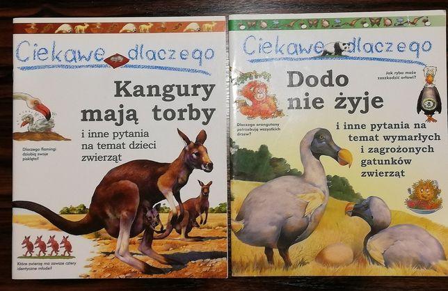 """""""Ciekawe dlaczego""""  komiksy edukacyjne dla dzieci - 4 komiksy duże."""
