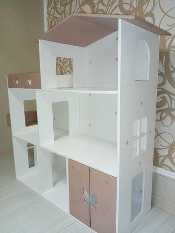 Домик для кукол ЛОЛ, БАРБИ 3 этажа