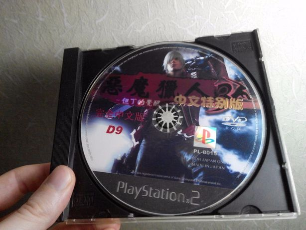 диск Devil may cry 3 ps2