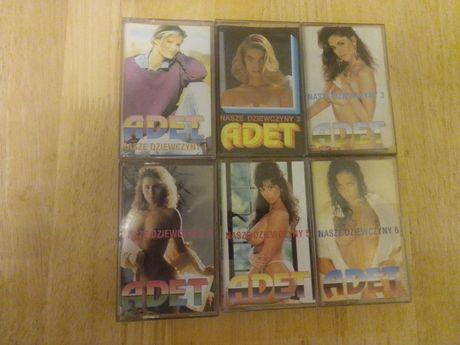 Kasety magnetofonowe Adet- Nasze dziewczyny 6 szt