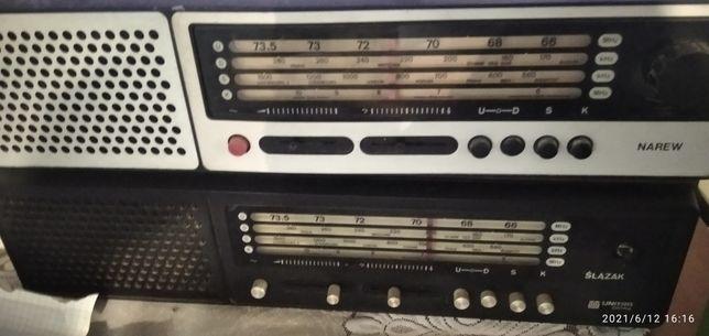 Radio UNITRA diora ślązak narew