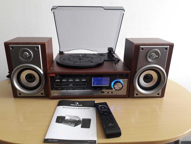 Wieza gramofon auna CD mp3 USB