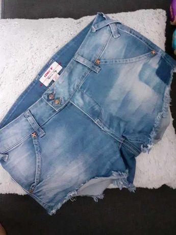 Krótkie spodenki jeansowe szorty 38 M