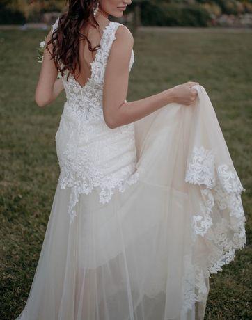 Suknia ślubna wyjątkowa cudowna