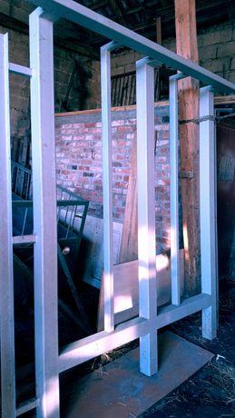 Konstrukcja stalowa pod balkon