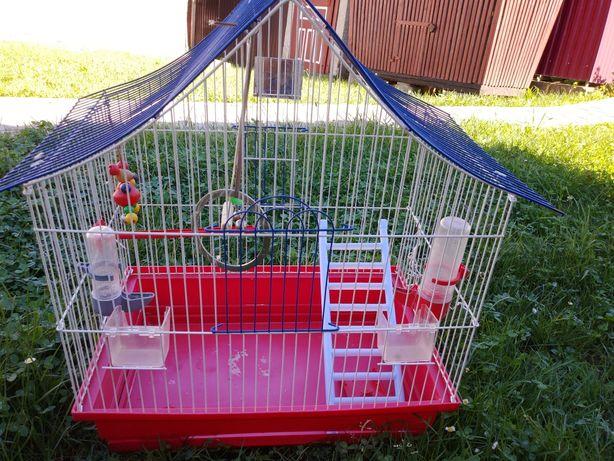 Клітка для пташки папуги