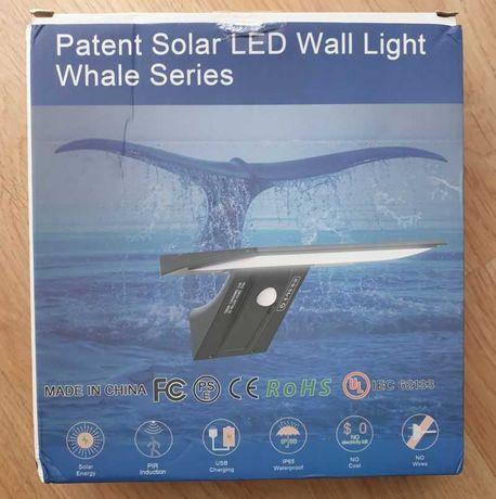 Lampa Solarna LED 90 solar z czujnik ruchu naścienna zewnętrzna IP65