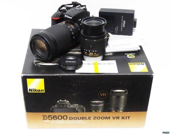 Lustrzanka  Nikon D5600  Double Zoom VR Kit