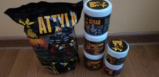Zestaw kulek proteinowych INVADER! Zanętowe, hakowe i pop up! Różne!