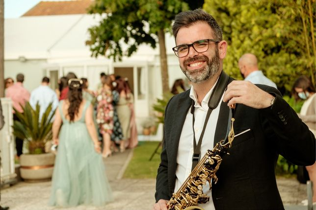 Saxofonista / Eventos /surpresa
