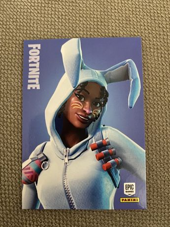 Carta Fortnite Series 1 Bunny Brawler #205 Panini