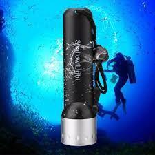 Lanterna Mergulho Led Cree 180 Lumens Zoom A Prova Dágua Q5