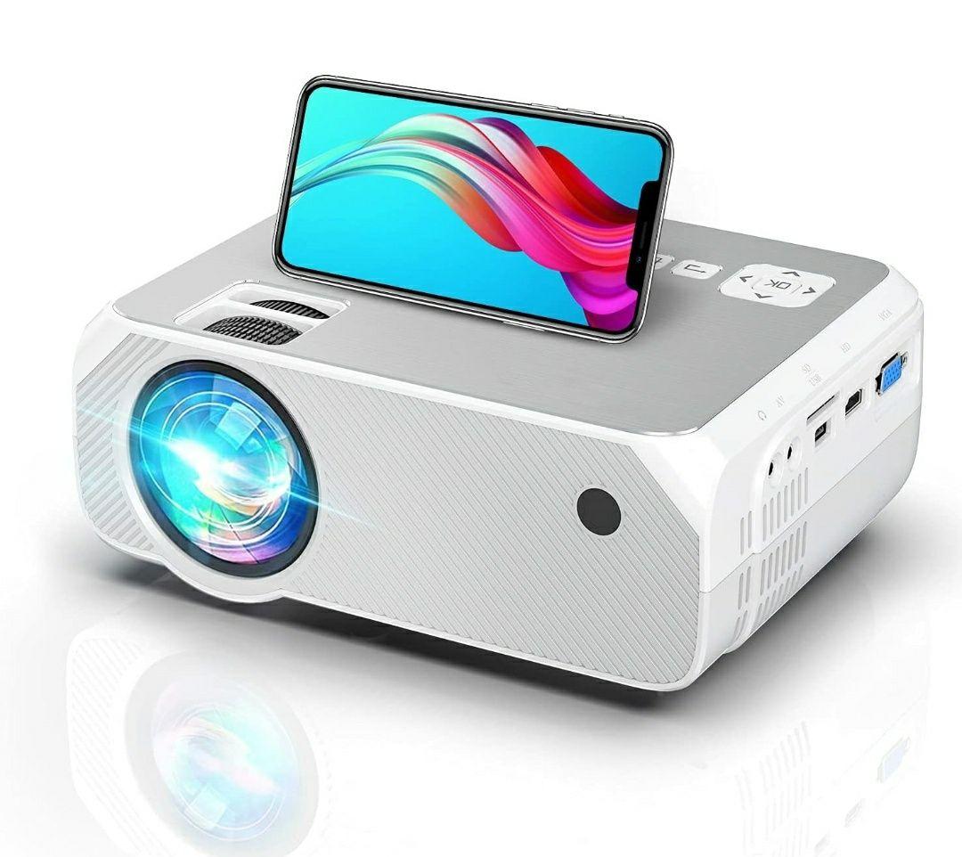 Projetor led 6500 lumens+WiFi incorporado+MULTI-SCREEN/1080P (NOVOS)
