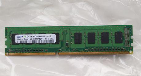 Оперативная память Samsung 1Gb DDR3 1066Мгц PC3-8500 для ПК