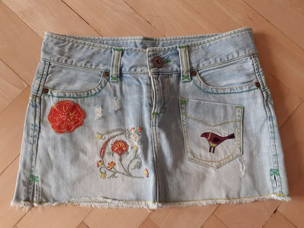 Spódniczka dżinsowa spódnica mini Pepe Jeans S