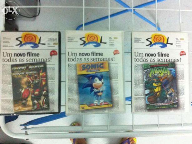 Dvd - filmes infantis diversos