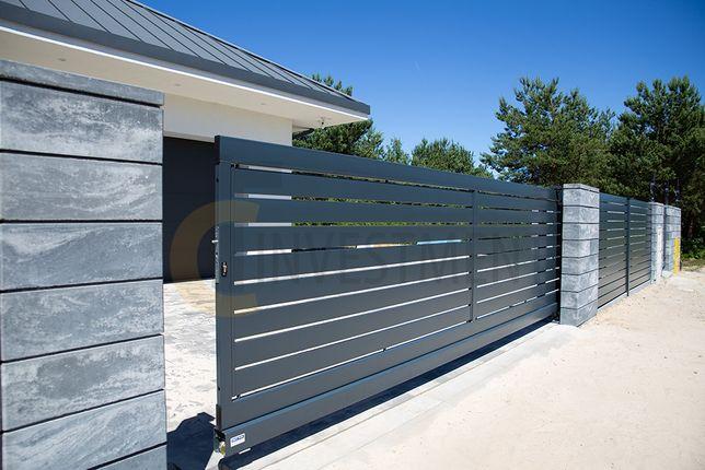 Montaż ogrodzenia. Panele ogrodzeniowe, bramy przesuwne i skrzydłowe.