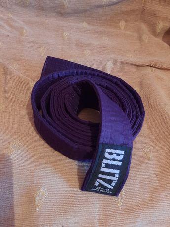 Пояс для единоборств фиолетовый, пурпурный
