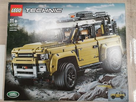 Nowe klocki Lego 42110 Land Rover Defender odbiór śląskie