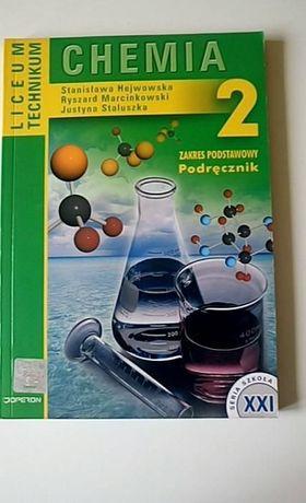Chemia 2 Podręcznik dla liceum i technikum zakres podstawowy