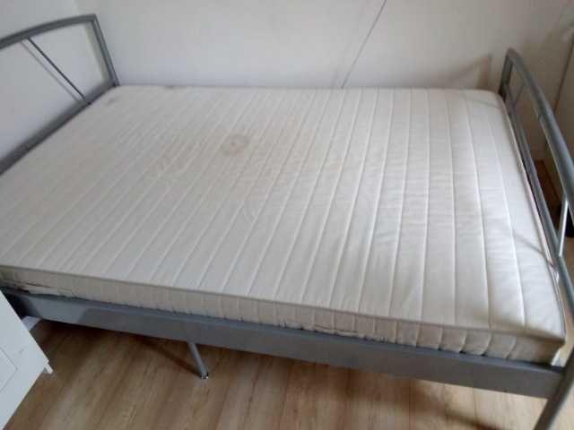 Łóżko 140×200 + materac Łódź - image 1