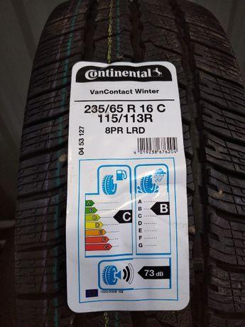 Nowe opony zimowe 235/65R16C Continental 115/113R VanContactWinter 8P