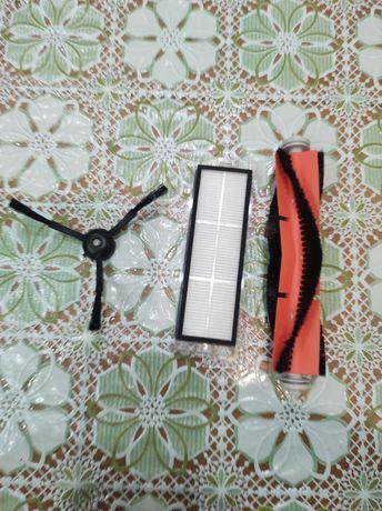 Щетка основная, боковая,фильтр для xiaomi roborock