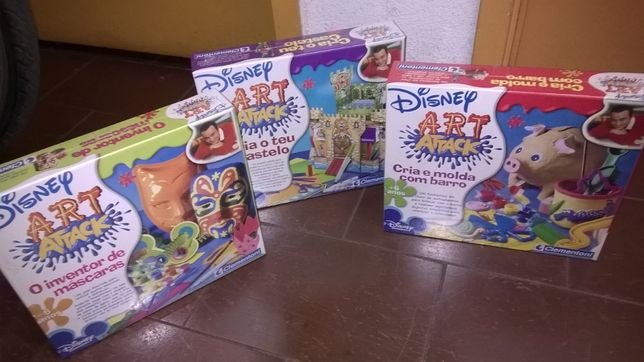 Kits didácticos Art Attack Disney-Clementoni