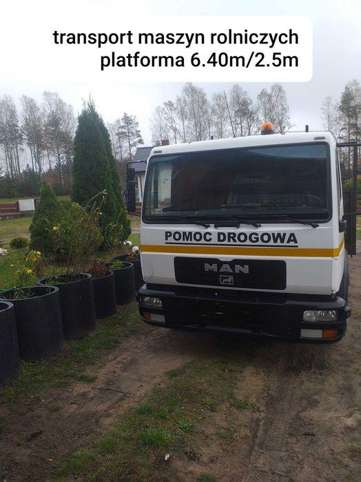 Pomoc drogowa transport maszyn rolniczych Sulęczyno - image 1