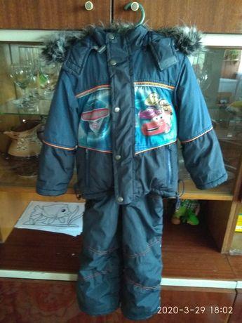 Куртка, комбез. Костюм зимний на мальчика