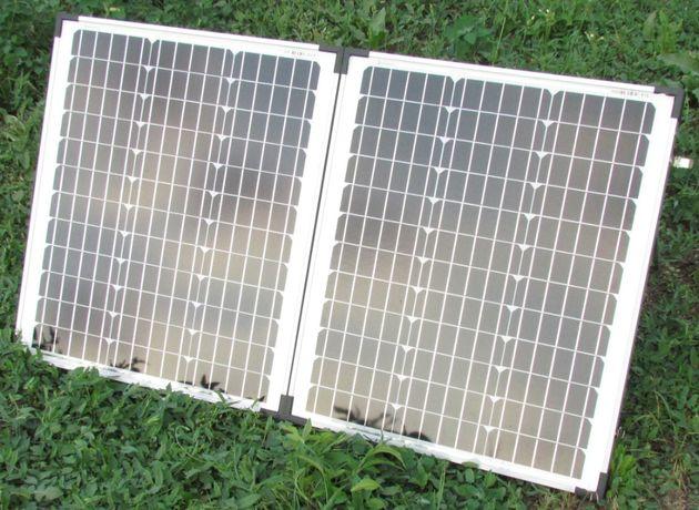 Солнечная панель батарея туристическая переносная. Сделана в ГЕРМАНИИ!