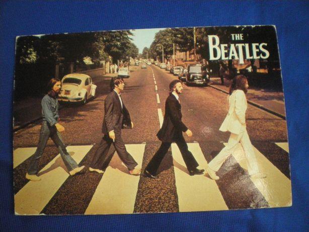 Открытка редкая The Beatles