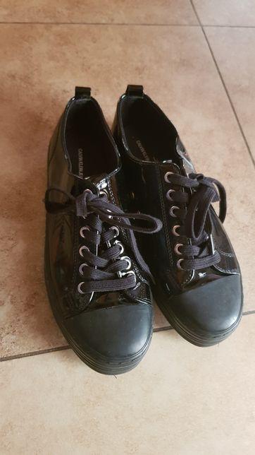 Buty wiązane Calvin Klein 40 czarne