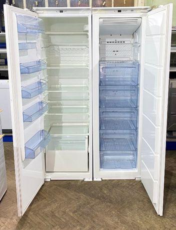Комплект: встраиваемый холодильник + встраиваемая мороз. камера AEG