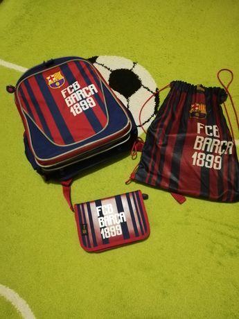 Plecak, worek, piórnik FC Barcelona