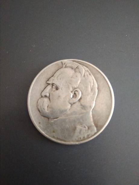 Монета. Польша. 5 злотых 1935 год.