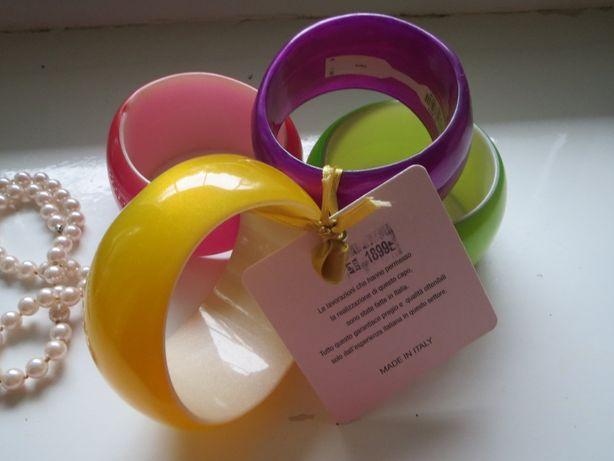 4 цветных браслета (Италия)