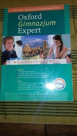 Oxford Gimnazjum Expert podręcznik z repetytorium do języka ang.