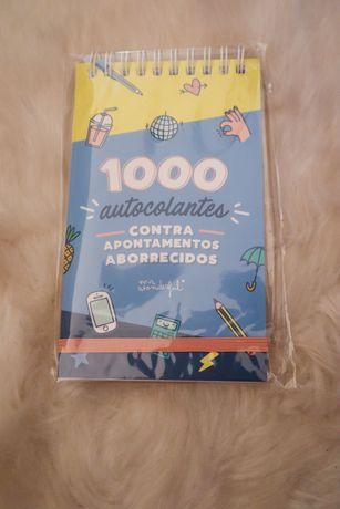 Mr Wonderful- Bloco de 1000 autocolantes