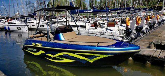 Łódz motorowa CRISO 610 sport zamian na SUV