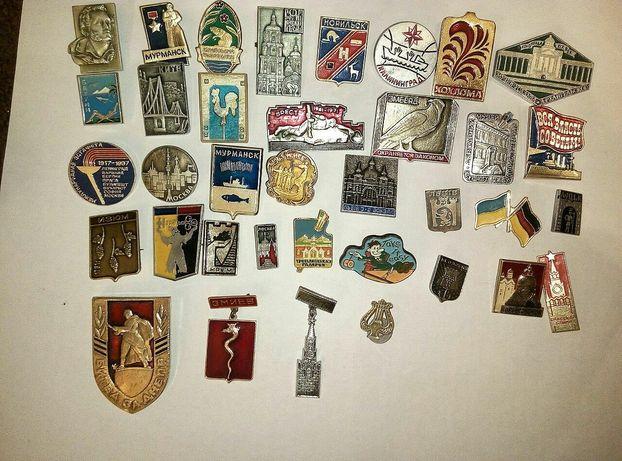 Значки ссср коллекция