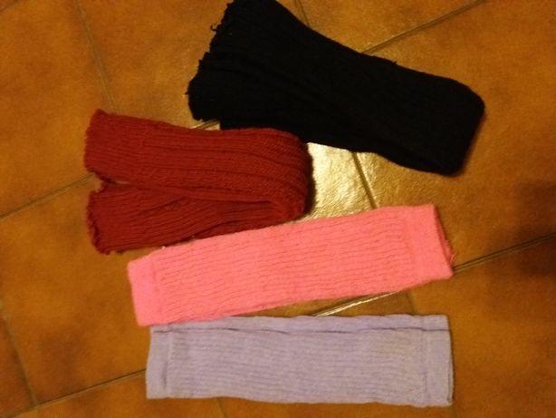 Várias meias e vestido de inverno S/M para 13/14anos